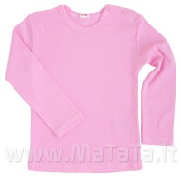 Apatiniai marškinėliai ilgomis rankovėmis (rausva)
