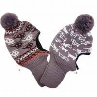 Žieminė kepurė-šalmas (40-42 cm)