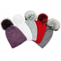 Žieminė kepurė mergaitei Sabrina (50-52 cm)