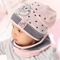 AJS vienguba kepurė su mova kūdikiui 48-50 cm