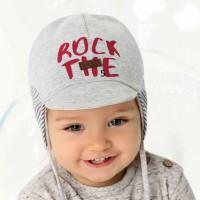 AJS dviguba kepurė berniukui 48-50 cm
