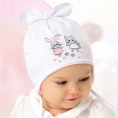 AJS dvigubo trikotažo kepurė kūdikiui 40-42 cm