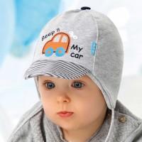 AJS dviguba kepurė berniukui 40-42 cm
