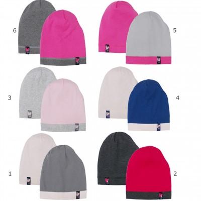 AJS dviguba kepurė mergaitei 52-54 cm