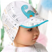 """AJS plona kepurė kūdikiui (44,46,48) """"Dino"""""""