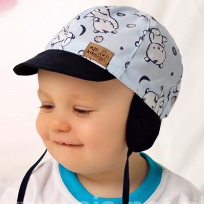 """AJS plona kepurė kūdikiui (42,44,46) """"Meška"""""""