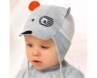 """AJS plona kepurė kūdikiui 36-38 cm """"Šuniukas"""""""