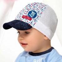 "AJS plona kepurė berniukui (50,52,54) ""45 Road"""