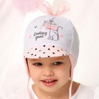 AJS plona kepurė mergaitei (46,48,50)