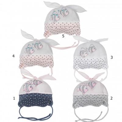 AJS plona kepurė kūdikiui 44-46 cm