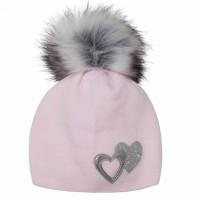 Žieminė kepurė mergaitei (50-52 cm)