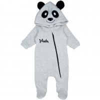 Storos šiltos medvilnės su pūkeliu kombinezonas Panda