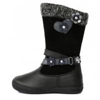 Juodi ilgaauliai batai su pašiltinimu 31-36 d. 036708AL