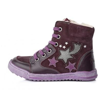 Violetiniai batai su pašiltinimu  28-33. DA061645