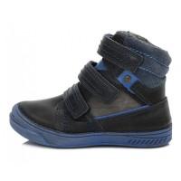 Tamsiai mėlyni batai su pašiltinimu 25-30 d. 040426BM