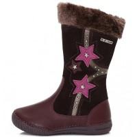 Violetiniai ilgaauliai batai su pašiltinimu 31-36 d. 036707L