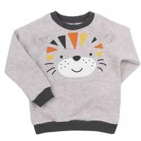 Kilpinio trikotažo džemperis Liūtas