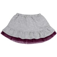 Plono trikotažo sijonas