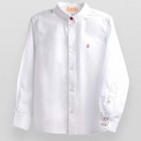 Balti stilingi lininiai marškiniai berniukui