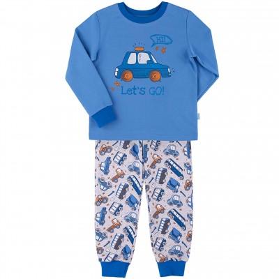Šilta (su pūkeliu) vaikiška pižama Let's go