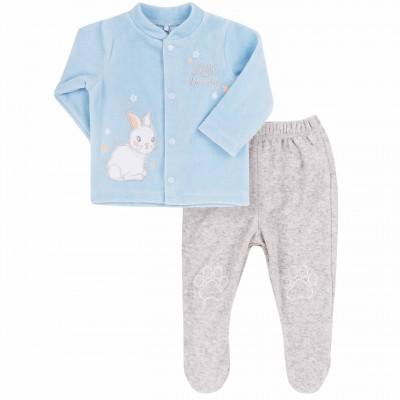"""Veliūrinis komplektukas kūdikiui """"Bunny"""""""