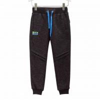 Šiltos (su pūkeliu) sportinės kelnės (juodos)