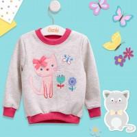 """Šiltas džemperiukas (su pūkeliu)""""Kitty"""""""""""