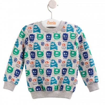 """Šiltas džemperis (su pūkeliu)""""Monster"""""""