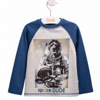 "Marškinėliai berniukui ""Space Dude"""