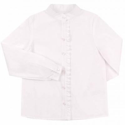 Balti marškiniai mergaitei