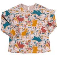 Palaidinė mergaitei Bunny (marga)