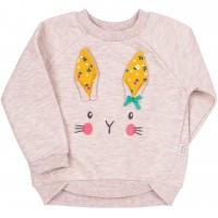 Džemperis mergaitei Bunny (rusvas)