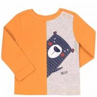 Marškinėliai berniukui Bear (oranž.)