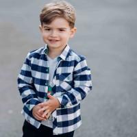 Flaneliniai marškiniai berniukui Rider