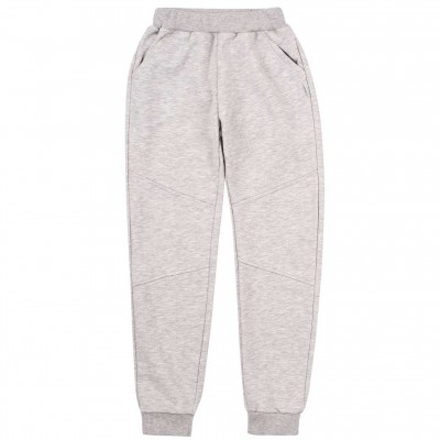 Šiltos medvilnės kelnės (pilkos)