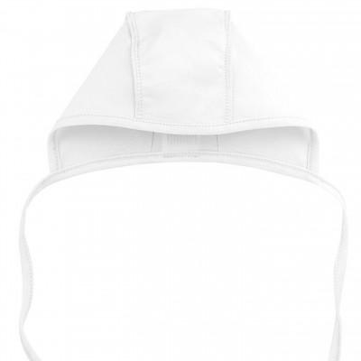 Kepurė kūdikiui plonos medvilnės (balta)