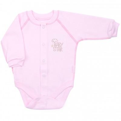 Minkštos medvilnės smėlinukas Baby Star (rausvas)