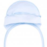 Kepurė kūdikiui (melsva) 45