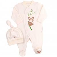 Komplektukas kūdikiui Panda (pieno spl.)