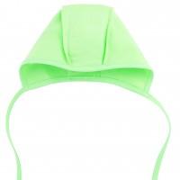 Šilta (su pūkeliu) kepurė kūdikiui (žalsva)