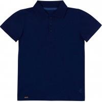 Polo marškinėliai berniukui Mokykla (mėlynos spl.)