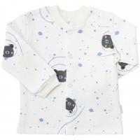 Šilti marškinėliai (su pūkeliu) Meška (pieno spalvos)