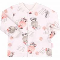 Šilti marškinėliai (su pūkeliu) Sweety (pieno spalvos)