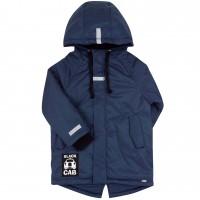 Šilta demisezoninė striukė berniukui Black car (mėlynos spalvos)