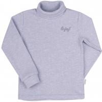 Šiltas džemperis-golfas su viskozė Enjoy (melsvos spl.)