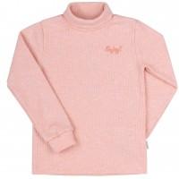 Šiltas džemperis-golfas su viskozė Enjoy (rausvos spl.)