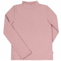 Šiltas džemperis-golfas su viskozė (pelenų rožės spl.)