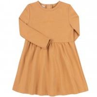 Kilpinio trikotažo suknelė Grateful (biežinės spalvos)