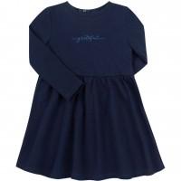 Kilpinio trikotažo suknelė Grateful (tamsiai mėlynos spalvos)