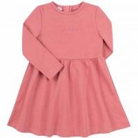 Kilpinio trikotažo suknelė Grateful (rausvos spalvos)